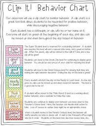 Davis Clip Chart Davis Allison Classroom Management Plan