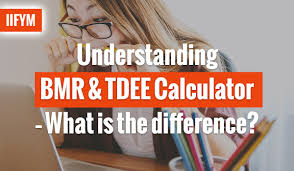 understanding bmr tdee calculator what is the difference