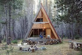 tiny house vacations. A-frame Tiny House Cabin Vacations