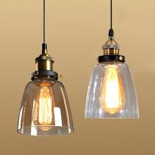 clear glass pendant light shade. Aliexpress.com : Buy Vintage Loft Glass Pendant Light Shade Hanging Industrial Lamp Clear Home Restaurant Decoration From Reliable X