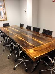 reclaimed wood furniture modern. Reclaimed Wood Office Desk Inspirational Hand Crafted 10 X 4 Conference Table With Steel I Furniture Modern