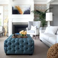 ottoman tray ideas fun with blue transitional living room ottoman coffee table tray ideas