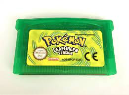 Pokémon: LeafGreen Version Pokemon Game Boy Advance game for Nintendo GBM,  GBA, SP, NDS, NDSL - AutoLinie