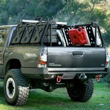 Bed Rack Active Cargo System for Short Bed Toyota Trucks