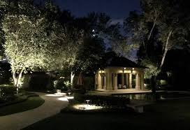 Lighting in garden Festoon At Enhanced Outdoor Lighting To Set Up Free Consultation To Discuss How We Can Use Our Expertise To Improve The Nighttime Visibility Of Your Gardens Ward Village Garden Lighting Austin San Antonio Tx Enhanced Outdoor Lighting