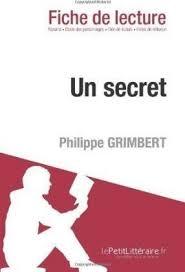 Analyse : Un secret de Philippe Grimbert (analyse complte de l'oeuvre et  rsum