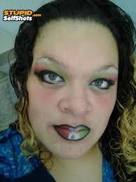 italian flag makeup fail self shot