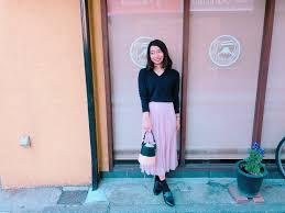低身長女性が足長大人に着こなすプリーツスカート春コーデ4選 Petit