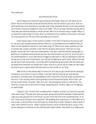 problem solution essays examples problem solution essay samples example of essay outline format