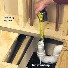 tub drain installation installing a whirlpool tub how to install a new bathroom bathtub drain installation