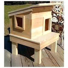 diy outdoor cat house outdoor cat house this outdoor cat house promises days of enjoyment in diy outdoor cat house