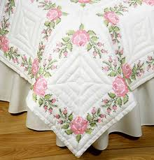 343 best Embroidered quilts images on Pinterest | Embroidered ... & Stamped Cross Stitch Kit 18