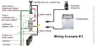disposal wiring diagram electricidad pinterest electrical wiring half switched receptacle wiring diagram at Half Switched Outlet Wiring Diagram