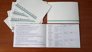Vehicle Maintenance Record Book 10 X Vehicle Service Book Blank Car History Maintenance Record Log