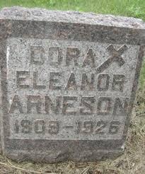Dora Eleanor Arneson (1909-1926) - Find A Grave Memorial