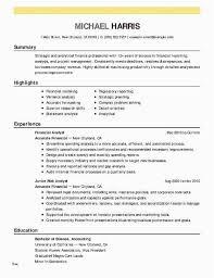 Credit Analyst Resume Example Analyst Resume Sample 23 New Credit Analyst Resume Professional