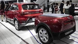 new car 2016 suvSUVs dominate the 2016 Beijing Auto Show