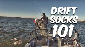 Drift Sock 101 Gear Up Boat Control For Drift Fishing Catfish