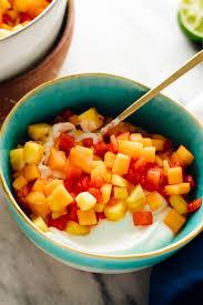 fruit salad bowl recipe. Delighful Recipe Tropical Fruit Salad On Fruit Salad Bowl Recipe N