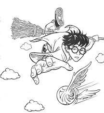 Small Picture Free Harry Potter Coloring Pages Quidditch Coloring Sheets