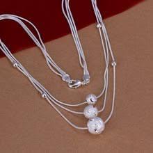 Ожерелье с <b>серебряным</b> покрытием, <b>Серебряное</b> модное ...