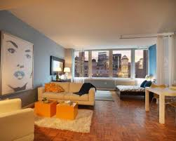 Beautiful Furnishing A Studio Apartment Images Amazing Design - Studio apartment furniture layout