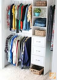 homedepot closet organizer how to build a closet to give you more storage home depot closet