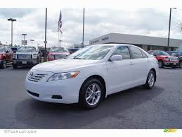 2007 Toyota Camry Le Luxury Super White 2007 Toyota Camry Le ...