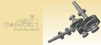 Скачать курсовой проект по деталям машин Редуктор коническо цилиндрический с шевронной передачей Курсовой проект по деталям машин