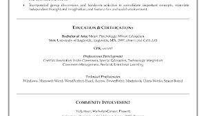 Resume For Teacher Assistant Job Sidemcicek Com Teachers Pics