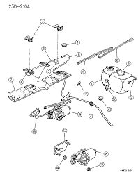 1996 dodge dakota windshield wiper washer diagram 00000exx