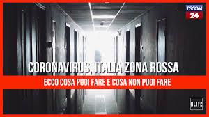 Tgcom24 - Coronavirus, Italia zona rossa: ecco cosa si può fare e cosa non  si può fare
