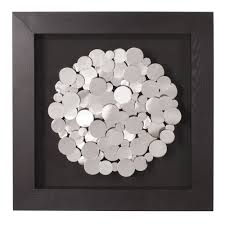 howard elliott collection  chrome coins mounted on black frame