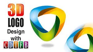 Coreldraw Designers 3d Logo Design In Corel 20 With Cdtfb Corel Draw In Hindi