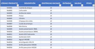 Inventario Excel Plantilla Excel De Inventario Y Stock Plantillas Gratis