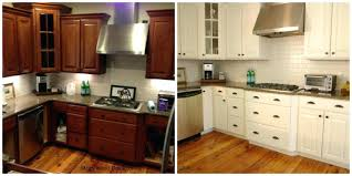 painted wooden kitchen cabinets types preeminent red oak wood alpine door painting kitchen cabinets subway tile