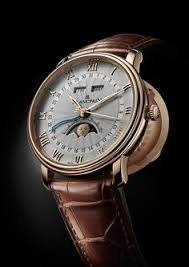 1930 howard pocket watch to wristwatch conversion nickle vÄ°ntage blancpain villeret half hunter moon phase ref 6664 3642 55b luxury watches for menmoon