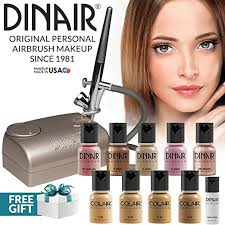 the dinair kit is perfect for makeup artists who want to create glamorous looks the all sds air pressor and cx beauty airbrush bine to create