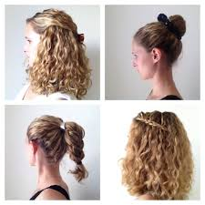 Quick Cute Ponytail Hairstyles Easy Ponytail Hairstyles For Curly Hair Fusion Hair Extensions Nyc