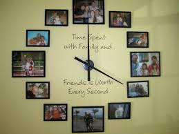 large family style wall clock kim crafts