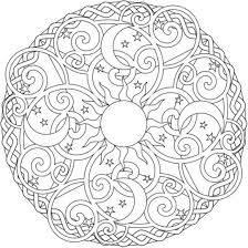 Small Picture Printable Mandala Coloring Pages Download And Print Sun Moon And