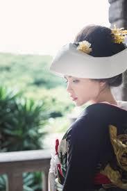 和装に合わせるヘアスタイル綿帽子角隠し洋髪とは Marryマリー