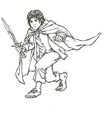 Small Picture Free Printable Lord of The Rings Coloring Pages For Kids