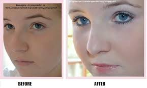 blush before and after. federica blush before and after f