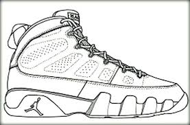 Popular Nike Shoe Coloring Page Plus Shoe Coloring Page New Lovely