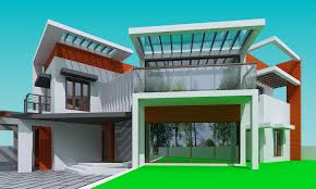 Contemporary Latest Home Design From Triangle Architects Team