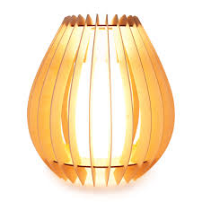 ply ribbed table lamp designed in australia by micky stevie