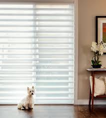 glass door blinds window treatments for sliding glass doors pirouette shades hunter douglas chicago 60657