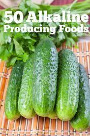 Alkaline Producing Foods Chart 50 Alkaline Producing Foods Alkaline Diet Alkaline Diet