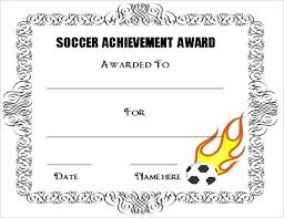 Soccer Certificate Templates For Word Award Certificate Template Free Word Awards Templates Getpicks Co